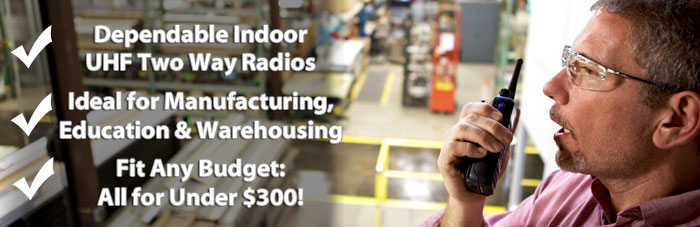 Best Indoor Two Way Radios Under $300