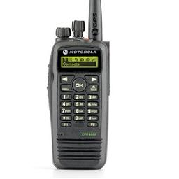 Motorola XPR6550 Two Way Radio for Emergency Services