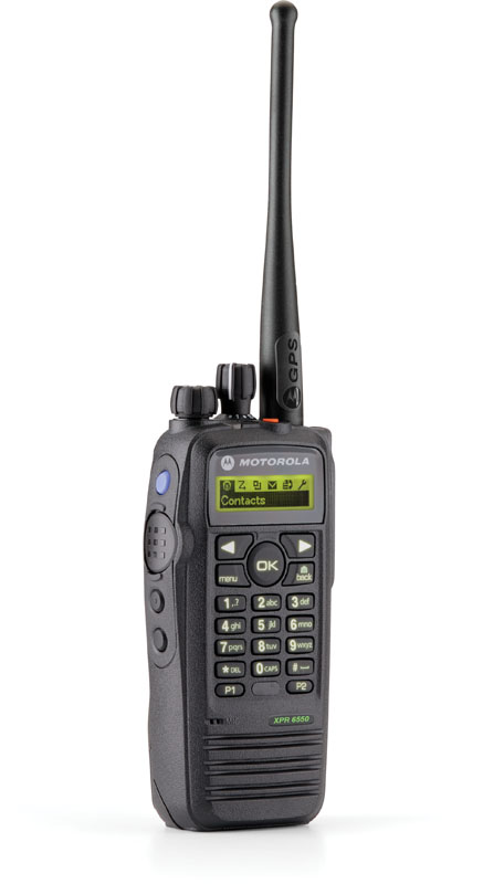 Motorola MotoTRBO 6550 Digital Two Way Radio
