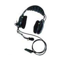 AARMN4019 - Medium Weight over-the-head Dual Muff Headset, Microphone and In-Line PTT - Intrinsically safe