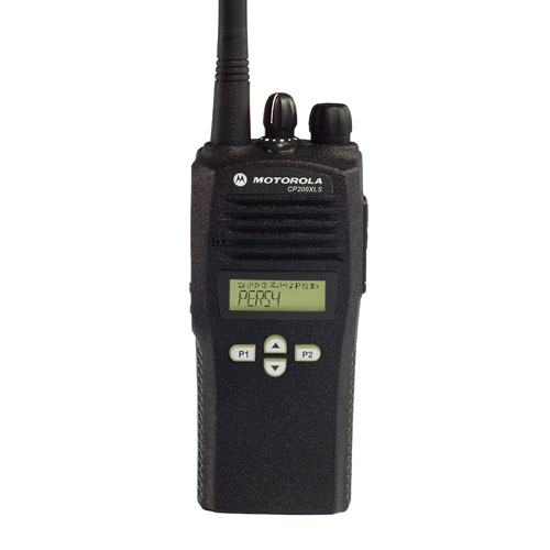 CP200XLS VHF 128 Channel Motorola Portable Radio (136-162 MHz)