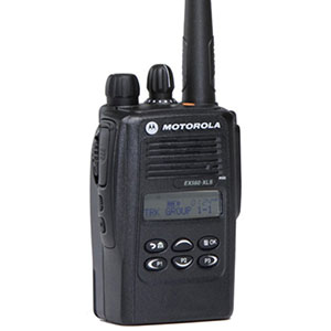 EX560XLS VHF 160 Channel Compact Portable Radio
