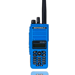 XPR6580 MOTOTRBO Instrinsically Safe Digital 800Mhz/900Mhz 160 Channel Portable
