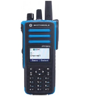 XPR7550 IS - Motorola MotoTRBO UHF Digital CSA Intrinsically Safe Radio