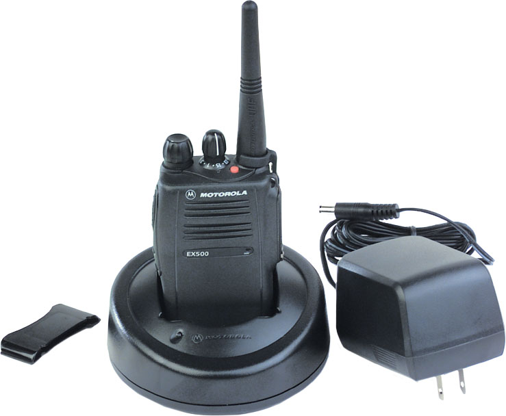 EX500 UHF 16 Channel Compact Portable Radio