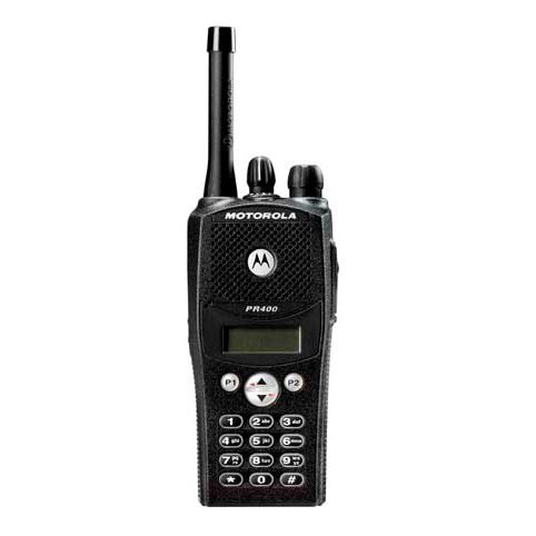 PR400 UHF 64 Channel Full Keypad Portable Radio