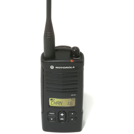 CP110 Display Model UHF 16Channels Portable Radio