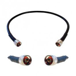 Cable 2' extension LMR400 eqiv. ultra low loss cable (N male - N male ends)