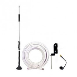 Magnet Antenna Kit for Router Hubs w/ 20 foot Cable - FME/MCX/SMA