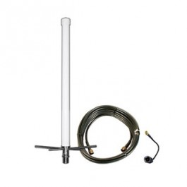 Omni Building Antenna Kit for Router Hubs w/ 30 Foot Cable 50 Ohm FME/MCX/SMA