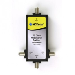 Wilson 3 way splitter   75 ohm