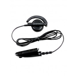 BDN6719 - Flexible Ear Receiver, Black Earpiece without Volume Control