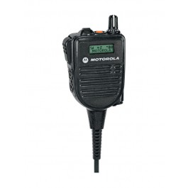 HMN4104 - IMPRES Speaker Microphone with Display 3.5mm Audio Jack and Channel Selector