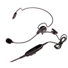 RLN5411 - Ultra-Light Behind-the-Head Headset w/ In-Line PTT and Boom Mic