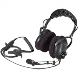 NMN6258 - Medium Weight Headset, Over the Head, w/Inline PTT