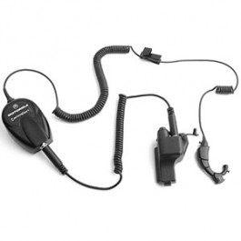 NTN1663 - Integrated Ear Microphone & Receiver System with Ring PTT _ Intrinsically Safe (FM)