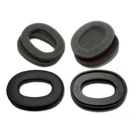 HY79 - Hygiene kit (earcushions & foam) for HT, MT & Tacticals (Black cushions)