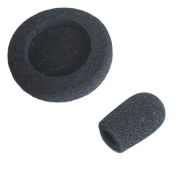 REX4648 -Replacement Windscreen (for use with Boom Microphone) and Foam Ear Pad