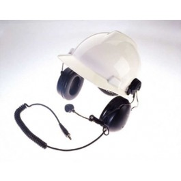 RMN4051 - 2-Way Hard-Hat Mount Headset, Black