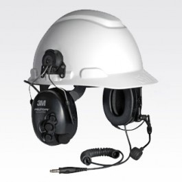 RMN4053 - Tactical Hard Hat Mount Headset, Gray