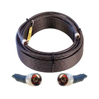 Cable 100' LMR400 eqiv. ultra low loss cable (N male - N male ends)