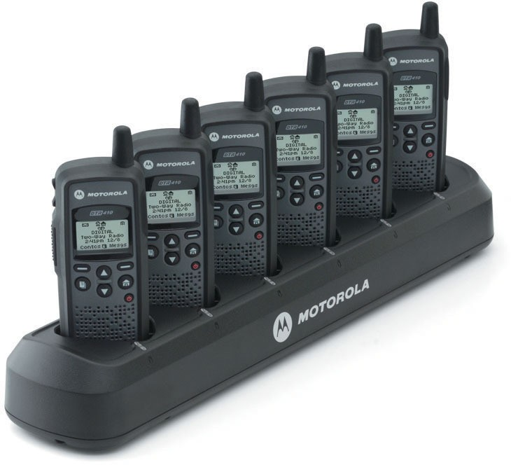 53960 - Motorola Six-Unit Charger for DTR Series radios