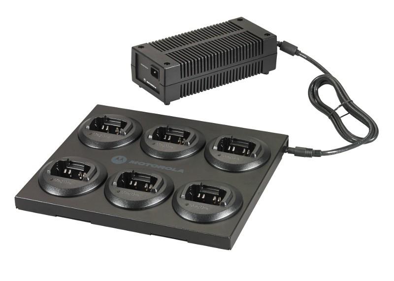 RLN6393 - Motorola Rapid Rate Multi Unit Charger for BPR series Radios
