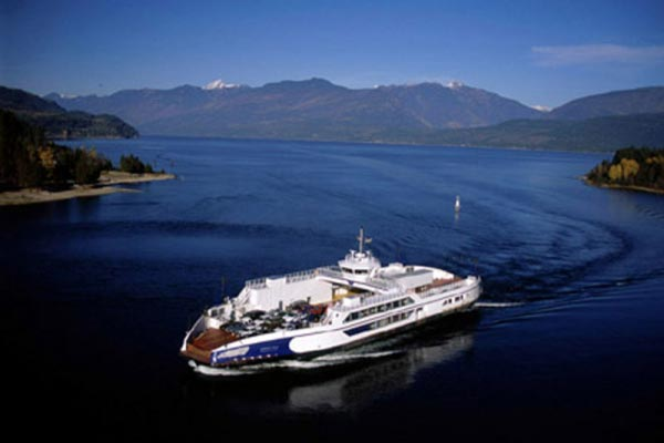ferry in BC waters