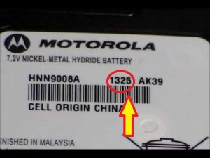 Motorola Date Code