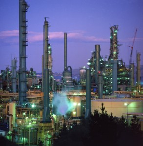 petro chemical plant industry