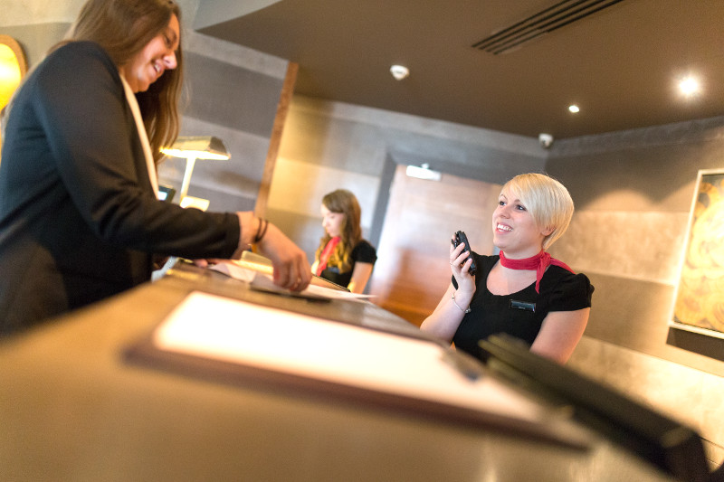 two way radios for hospitality