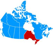 Ontario Map