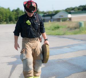 Firefighter Two Way Radio