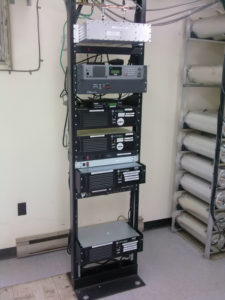 Two Way Radio Repeater Rack
