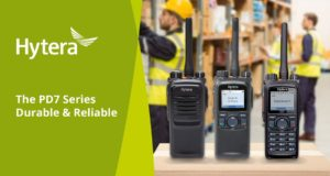 Hytera PD7 two-way radios