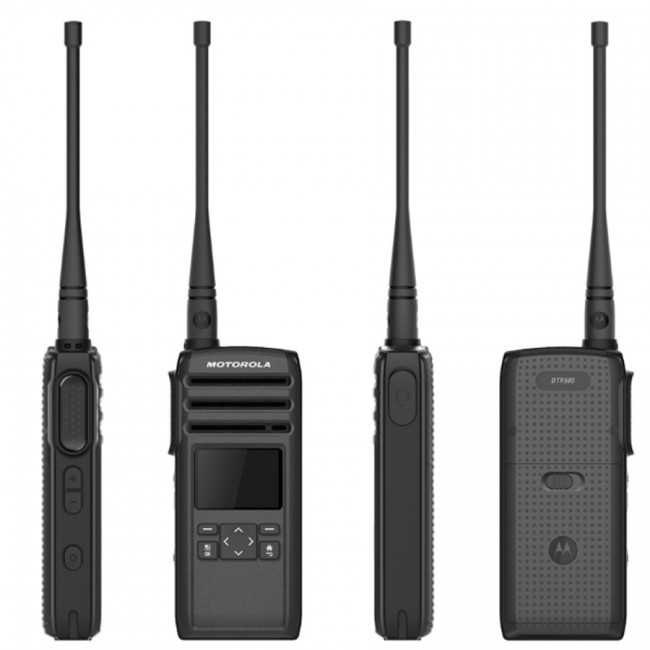 Motorola DTR 700 digital portable on-site two-way radio