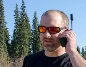 man on cellular phone
