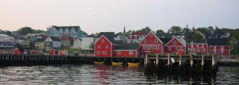 historic Lunenburg Nova Scotia Canada