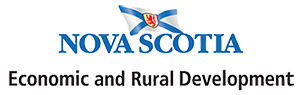 logo of Nova Scotia economic & rural development